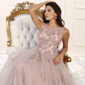 Red Carpet Formal Evening Prom Gown
